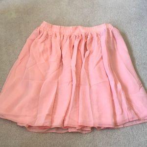 American apparel chiffon skirt!